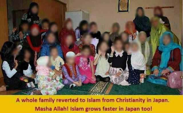 Satu Keluarga Besar Di Jepang Masuk Islam Karena Ini