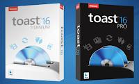 Disponibili Toast 16 Titanium e Toast 16 Pro per Mac