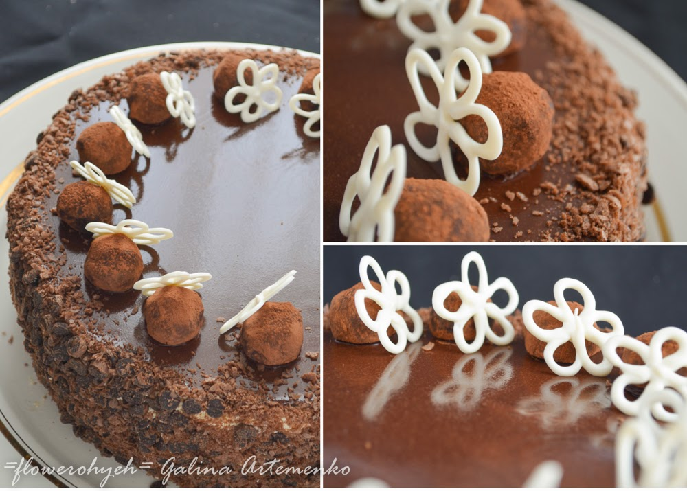 Торт Трюфельный фото
