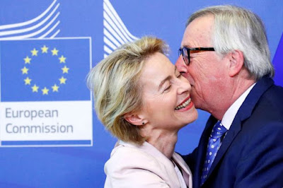 Juncker and Van Leyen