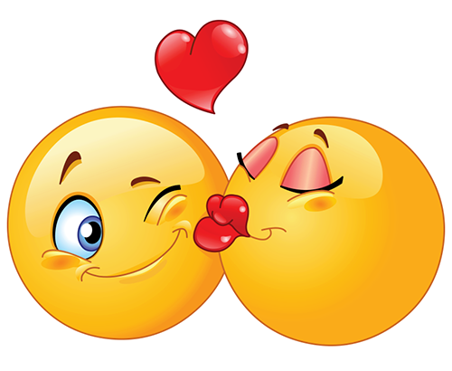 Kissing Smileys | Symbols & Emoticons
