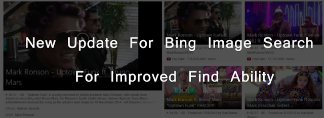 New Update For Bing Image Search For Improved Find Ability : eAskme
