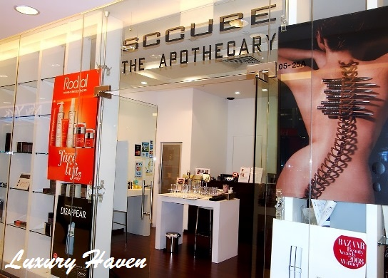 sccube the apothecary ngee ann city shopping