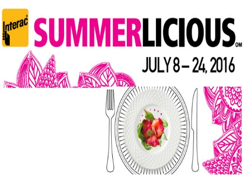 Summerlicious Prix Fixe Food Event