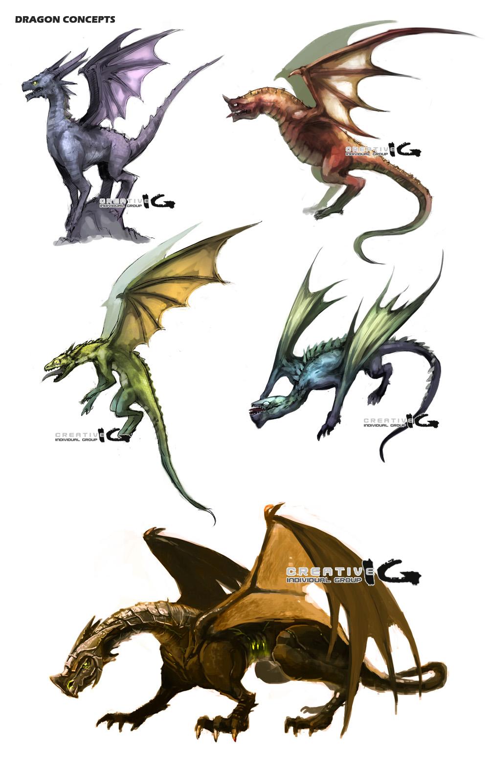 Korean Dragon: Ichi-Graphics: Dragon Tests