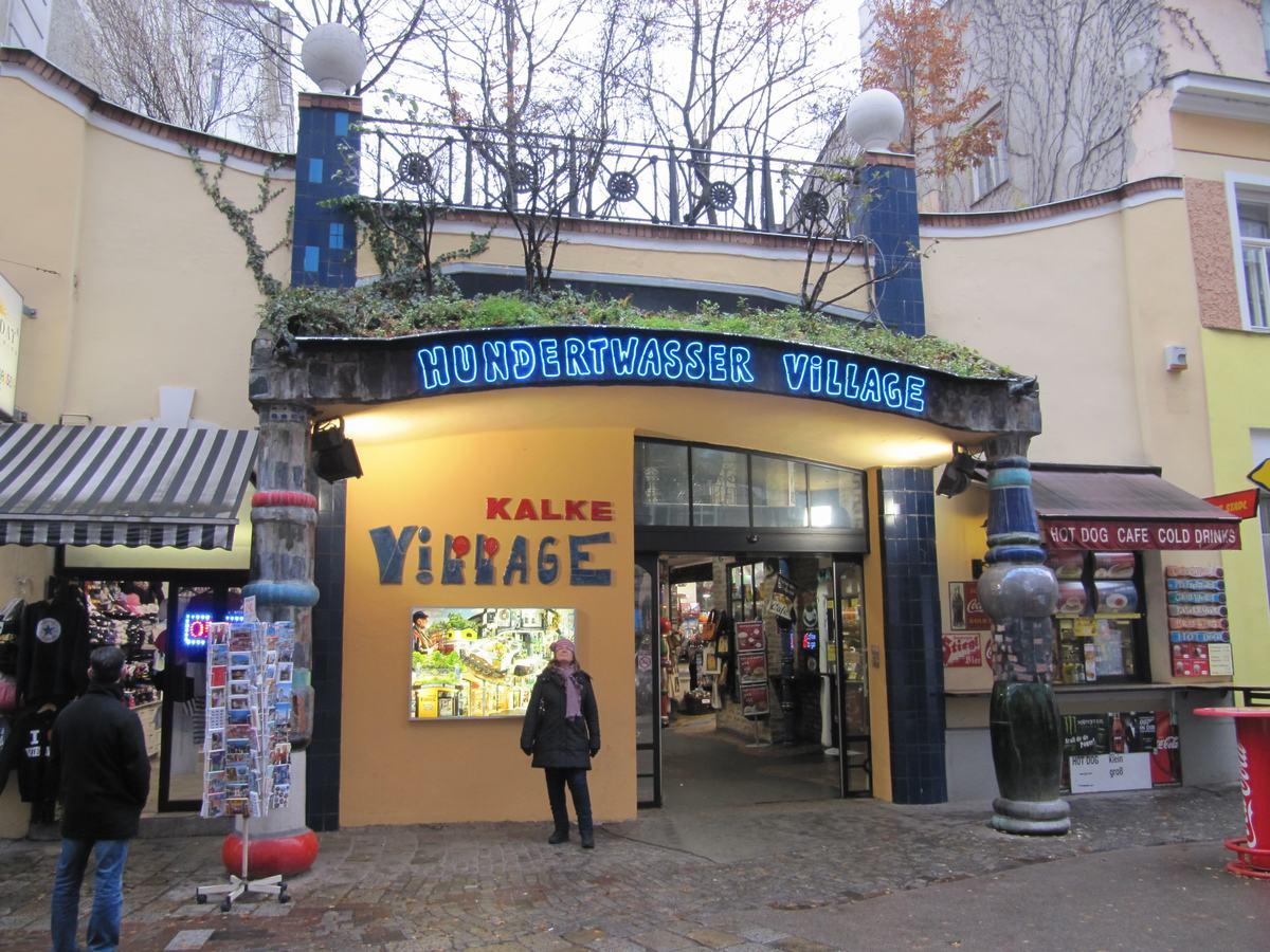 Hundertwasser village