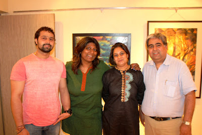 Sohail Khan at the auction of Nandita's paintings for social cause