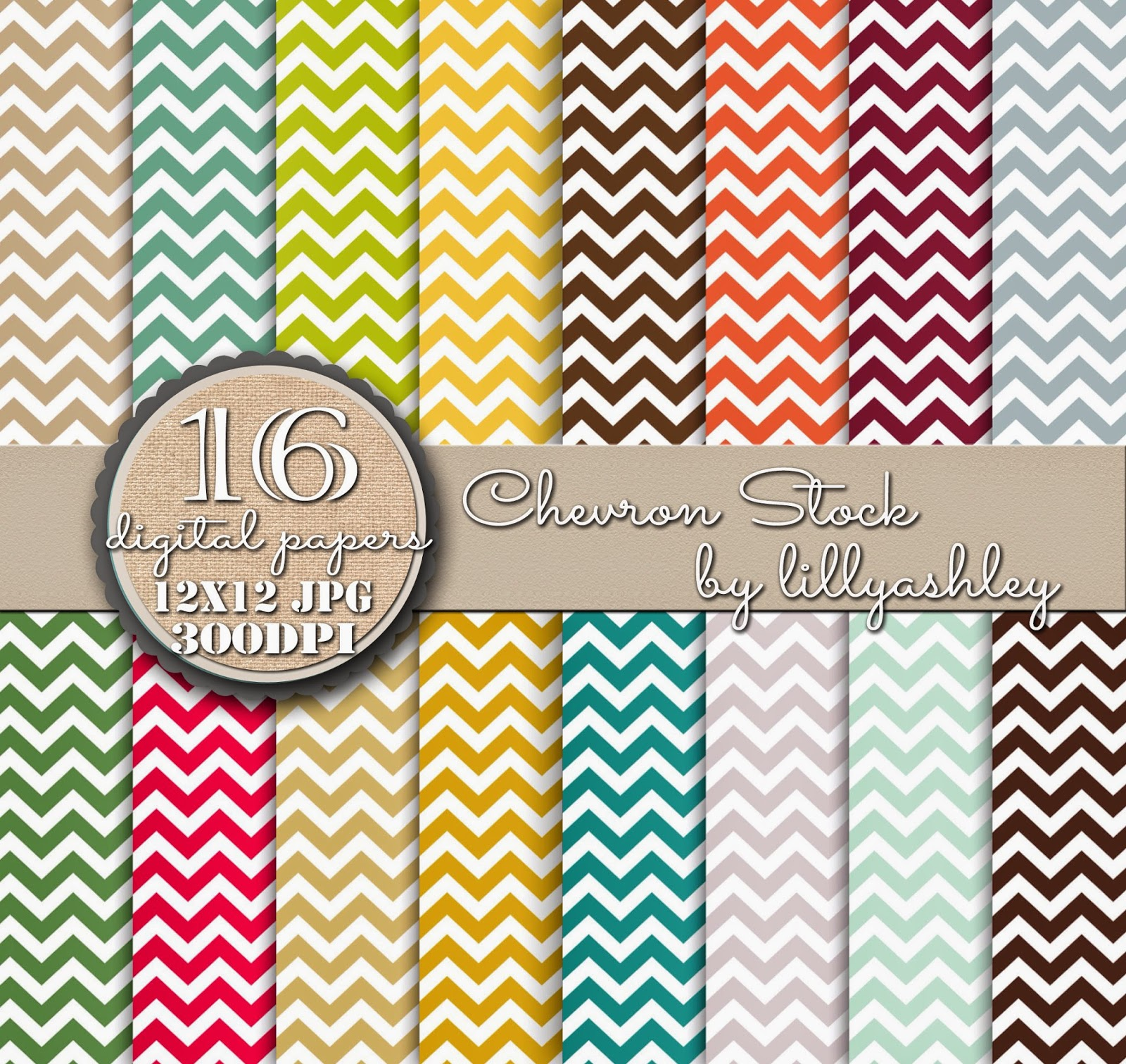 Chevron Scrapbook Free Download