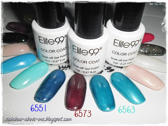 6551 6573 6563 Elite99 UV LED Nail Gel Cat Eye Gel 3D Nail Polish Professional Manicure Kit 1 Color Without Magnet Stick Gel Lacquer Varnish hybrid uv gel nail polish hybryda hybrydy żel uv