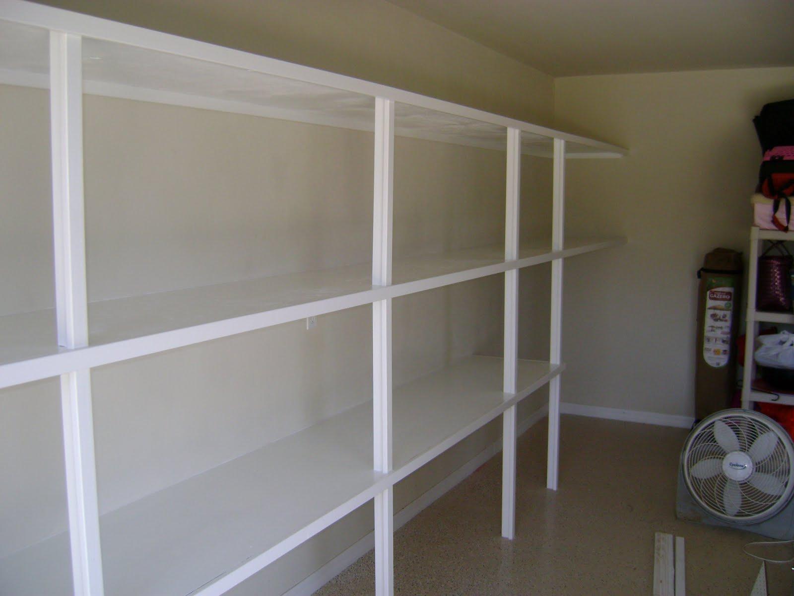 Ted Melrose Carpentry Garage Shelving