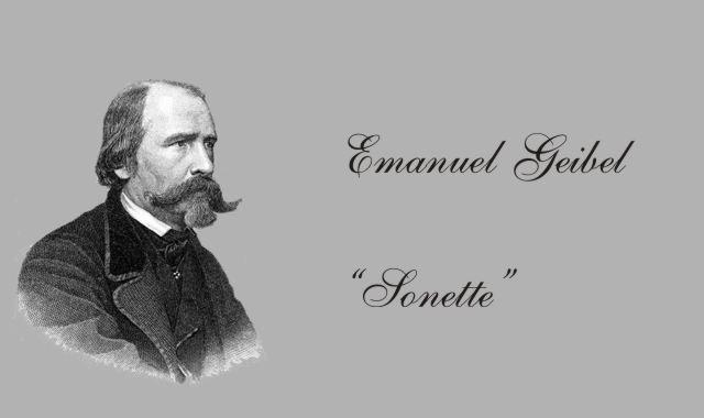 deutscher Dichter Emanuel Geibel