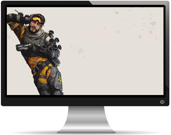 Apex Legends Mirage Artwork - Fond d'écran en Full HD 1080p