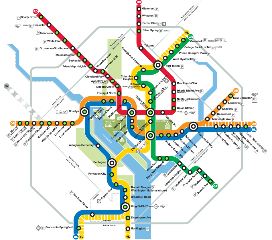 Hotels Close To Metro Stations In Washington Dc