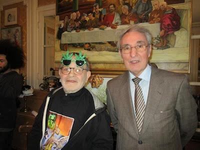 Fernando Arrabal y José María Gutiérrez Dopino