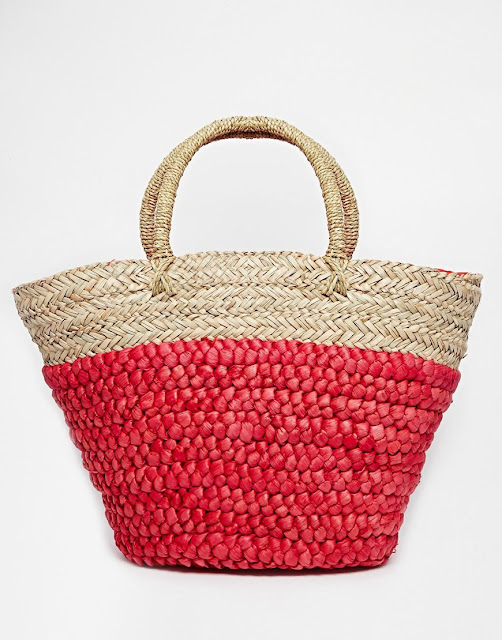 Nali Large Straw Shopper