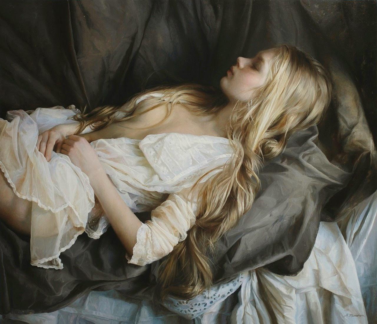 Jovem Sensual Descansando