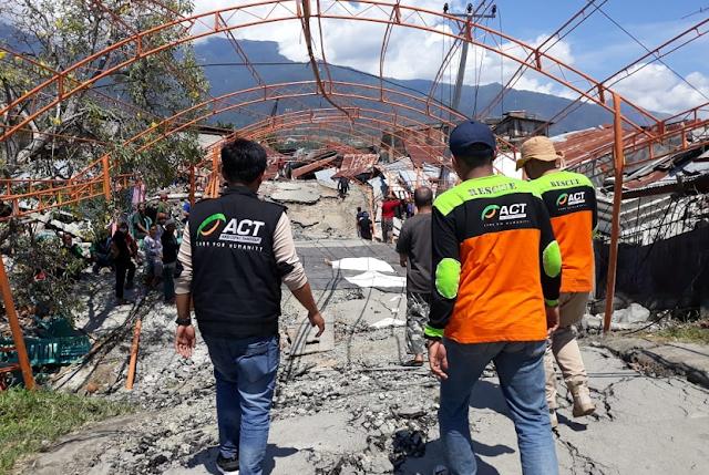 ACT: Korban Meninggal Dunia Gempa-Tsunami Capai 1.203 Orang