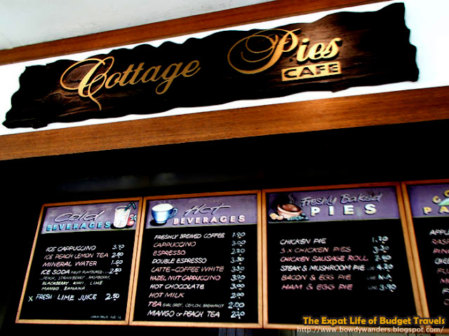 bowdywanders.com Singapore Travel Blog Philippines Photo :: Singapore :: Cottage Pies Café, Pasir Ris