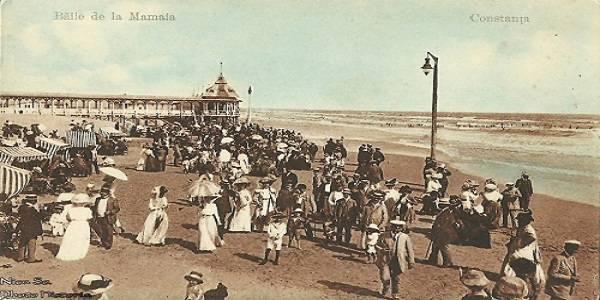 Cum arata litoralul romanesc acum 100 de ani.