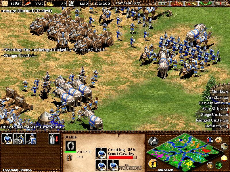 TÉLÉCHARGER AGE OF EMPIRE 2 THE CONQUERORS MYEGY