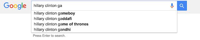 Google pensa que o usuário está pesquisando seu Gameboy?