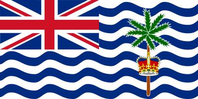 Bandeira do Território Britânico do Oceano Índico (BIOT)