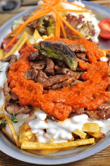 chef in the kitchen bodrum kebabı ankara