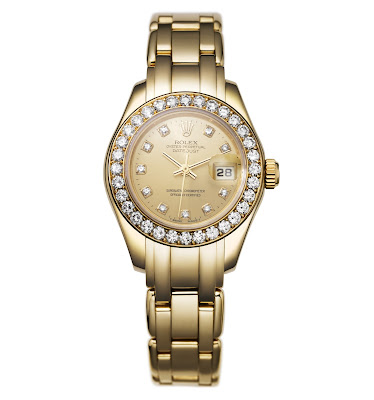 photo of First Rolex Pearlmaster Model from 1992