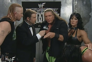 WWE / WWF Royal Rumble 1999 - Kevin Kelly interviews DX