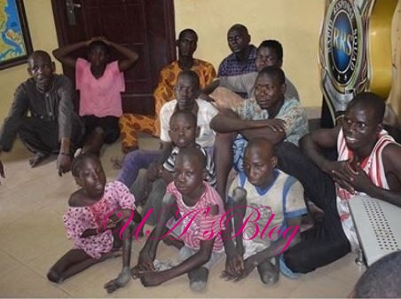 Lagos Police Arrests 7 Barons For Importing Physically Challenged Kids To Lagos To Beg