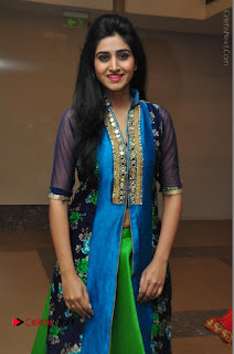 Actress Model Shamili Sounderajan Pos in Desginer Long Dress at Khwaaish Designer Exhibition Curtain Raiser  0052.JPG