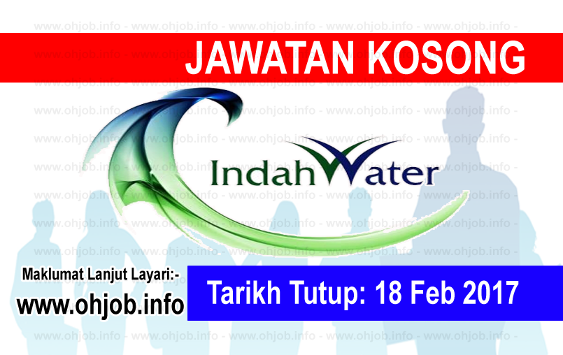 Jawatan Kerja Kosong Indah Water Konsortium (IWK) logo www.ohjob.info februari 2017
