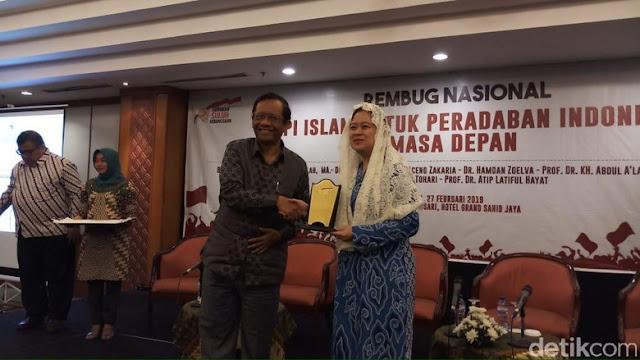 Mahfud Md Bicara 'Islam Sontoloyo', Orang yang Pura-pura Perjuangkan Islam