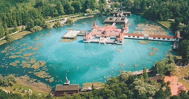 Озеро Хевиз, Венгрия. Лечение на озере Хевиз.