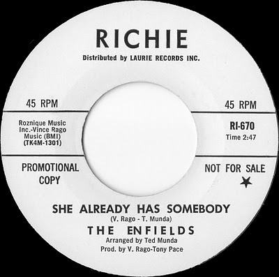 The_Enfields,garage_psychedelic-rocknroll,ted_munda,She_Already_Has_Somebody,1966