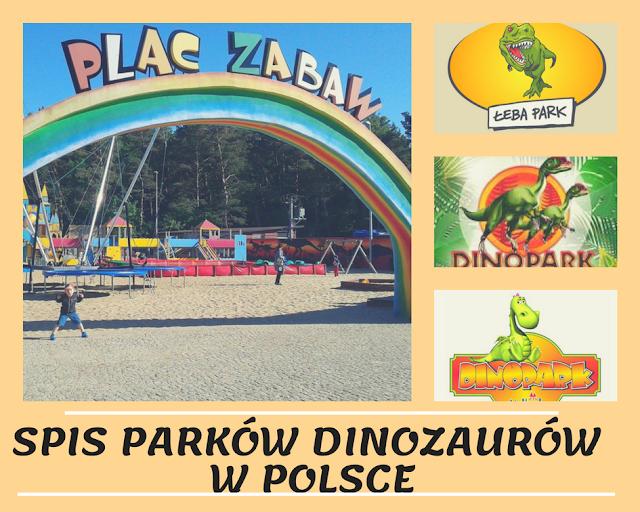 Spis Wszystkich Parków Dinozaurów w Polsce