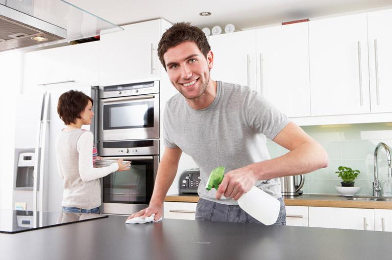 Apabila Periuk Memasak Anda Benar Sejuk Gunakan Tangan Untuk Membuang Sisa Makanan Longgar Dan Kotoran Dari Dapur Cara Yang Terbaik