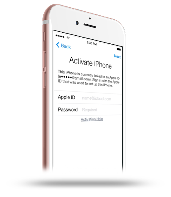 iCloud Unlock / Activation Unlock free