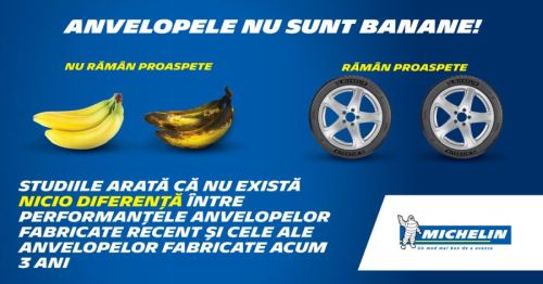 Anvelopele nu sunt banane
