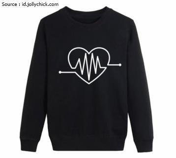 Jasa Bikin Jaket Sweater Sablon Satuan Murah