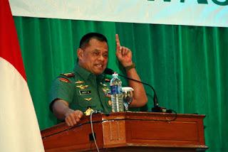 Panglima TNI, Jenderal TNI, Gatot Nurmantyo