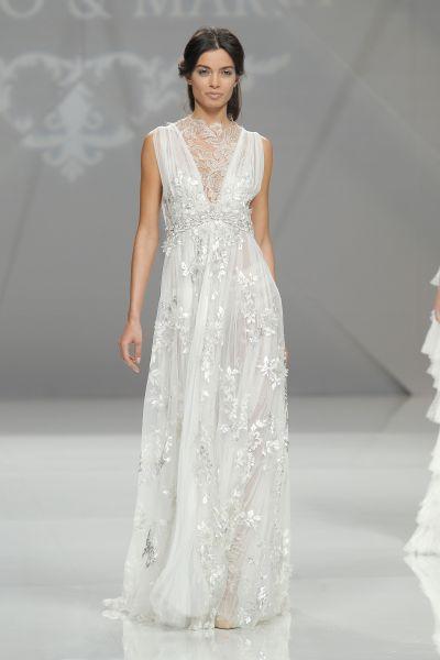 vestidos de novia sencillos e informales