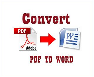 Cara Merubah PDF ke Word Terbaru