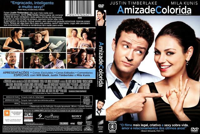 Capa DVD Amizade Colorida