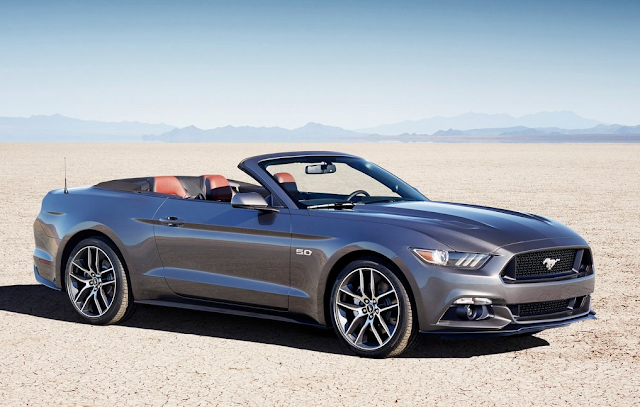 2015 Ford Mustang Convertible GT 5.0