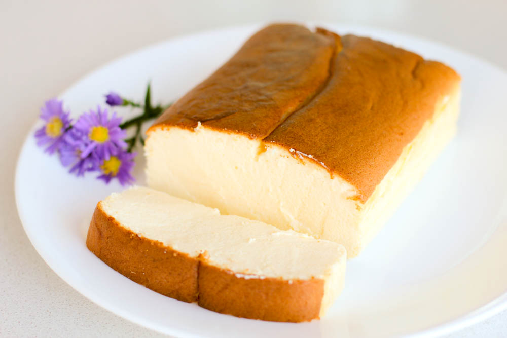Japanese Cheesecake Recipe: Green Cilantro: Happy Easter & Japanese Cheesecake