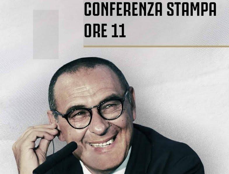 Rojadirecta Presentazione Sarri Juventus Streaming e Diretta TV, dove vederla.
