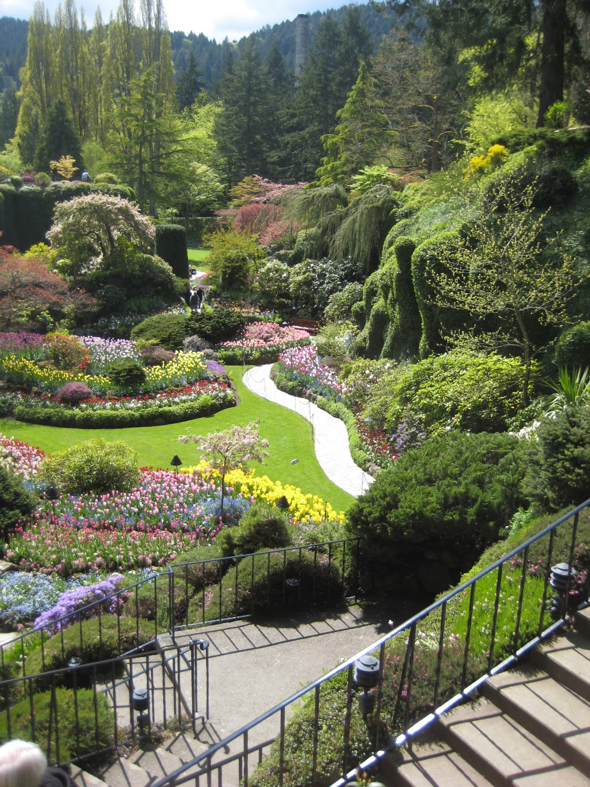 Victorian1885: Butchart Gardens April 2013