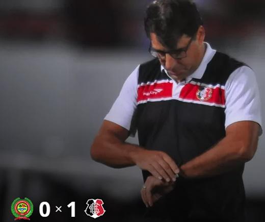 Juazeirense é derrotado pelo Santa Cruz em casa