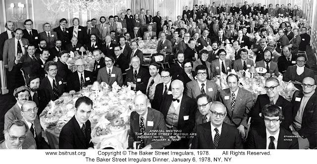 The 1978 BSI Dinner group photo